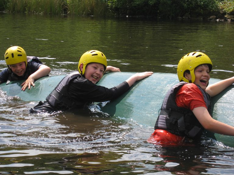 Kayaking capsize